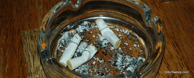 ... an apartment that was previously owned by a person who smokes. If this  is the case, you will need to do everything you can to remove cigarette  smell ...